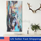 Abstract Art Woman Girl Back Canvas Oil Print Painting Picture Home Wall C