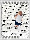 Crib Fitted Sheet 100 Organic Cotton Standard Crib Size Pack of 2 52 x 28 Inch