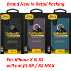 Genuine Otterbox Defender Series Case & Holster For Iphone X & Xs - Retial Box