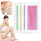 50Pc Hair Removal Wax Strips Papers Body Depilatory Double Sided Natural Waxing