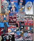 USA Independence Day American President Uncle Sam Patriot T Shirt Mens S-2XL New image