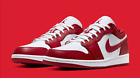 Nike Air Jordan 1 Low Gym Red White (GS) All Sizes 🔥🔥 Fast Shipping 🔥🔥