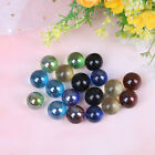 10Pcs 16mm colored crystal knicker ball fish tank decoration color nuggets tI sy