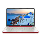 "New Hp 15.6"" Hd Intel N5000 4gb Ddr4 Webcam Bt Windows 10 Crimson Red Laptop"