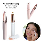 Women's Painless Electric Eyebrow Hair Remover Brows Trimmer Epilator UK Stock