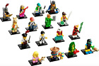 LEGO NEW SERIES 20 MINIFIGURES 71027 MINIFIGS ALL 16 YOU PICK  WITH STAND