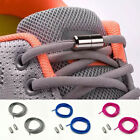 1pair Lazy No Tie Shoe Laces Elastic Shoelaces Metal Capsule Button Shoestrings