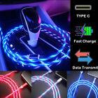 LED Lighting USB Type C Data Sync Charger Cable For Samsung A21s...