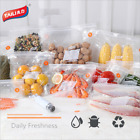 5 Pack Reusable Silicone Food Storage Bags Food Grade Preservation Freezer