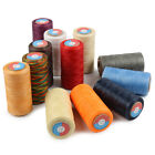 Waxed Thread 0.8mm/284Yard Flat Polyester Cord F/ Sewing Stitching Leather Craft