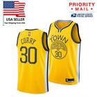 Great Quality GOLDEN STATE WARRIORS STEPHEN CURRY THE TOWN YELLOW NBA Men JERSEY
