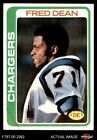 1978 Topps #217 Fred Dean Chargers LA Tech 7 - NM $15.5 USD on eBay
