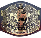 WWF WORLD WRESTLING FEDERATION UNDERTAKER CHAMPIONSHIP BELT HEAVYWEIGHT REPLICA