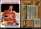 1975 Topps #107 D. Risebrough Canadiens 7.5 - NM+Ice Hockey Cards - 216