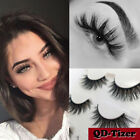 Kyпить 3 Pairs Natural Fashion Handmade Real Mink 3D False Eyelashes Thick Long Lashes на еВаy.соm