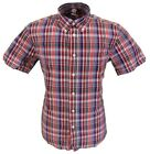 Warrior Red/White/Navy 100% Cotton Short Sleeved Shirts