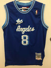 NWT Kobe Bryant #8 L.A. Los Angeles Lakers Men's Vintage BLUE Sewn Jersey on eBay