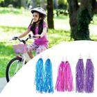Kid Bicycle Ribbon Bike Scooter Streamers Sparkle Tassel Decor Riband Q8f0