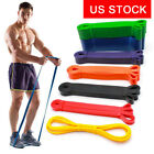 US STOCK Fitness Pull Up Resistance Bands Heavy Duty Bands Gym Exercise Workout image