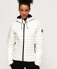 Superdry Womens Core Down Hooded Jacket <br/> Free delivery and 30 day returns. Love Brand Outlet