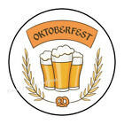 """30 OKTOBERFEST BEER ENVELOPE SEALS LABELS PARTY FAVORS STICKERS 1.5"""" ROUND"""