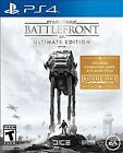 Star Wars: Battlefront -- Ultimate Edition (Sony PlayStation 4, 2016)
