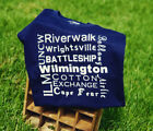 Wilmington, NC Attractions T-Shirt - Cape Fear Tee - Beaches ILM Airlie UNCW