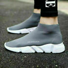 Elastic Sock Trainers Breathable Comfort Women Men Running SIZE Shoes STOCK//