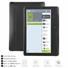 7inch E-Book Reader 8GB /16GB Backlight Color LCD Display For Windows 7/XP Black