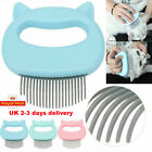 Pets Massage Comb Hair Removal Open Knot Brush Pet Cat Dog Shell Needle Comb UK