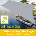 80g/m² Sun Shade Sail Cloth Shadecloth Outdoor Canopy Awning Shelter  A