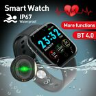Women Men Smart Watch Sports Fitness Wristband For iPhone Android Waterproof USA android Featured fitness for iphone men smart sports watch women wristband