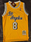 Vintage Kobe Bryant #8 Los Angeles Lakers '96-'97 Men's Throwback GOLD Jersey