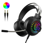 3.5mm Gaming Headset With Mic Headphone For PC Laptop Mac Nintendo PS4 Xbox One