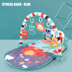 3 in 1 Baby Cartoon Toys Activity Gym Play Mat Fitness Music Fun