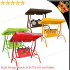 Kids Children Swing Bench Hammock Bed Outdoor Terrace Canopy 2 Seater Chair Seat