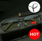 Titanium Alloy Progressive Multifocal Anti Blue light Distance Reading glasses