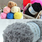 1roll Soft Fluffy Baby Knitted Woven Kids Knitting Wool Snuggly Yarn Sweater Hat
