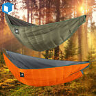 Length Ultralight Hammock Underquilt Camping Hiking Portable Hanging Bed Blanket