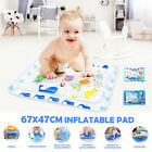 Baby Fun Inflatable Water Mat Kids Infants Game Best Tummy Time Playmat