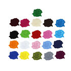 Lot 100Pcs Lager Rose Iron On repair Patches flower Bulk Embroidery Appliques