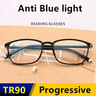 Women Men Anti Blue light Progressive multifocal Ultralight Far Reading glasses