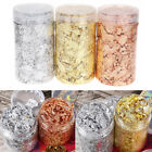 3 Gilding Metallic Flakes Leaf Foil Paper Box for Painting Resin Jewelry Nails