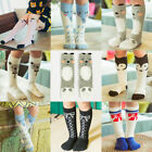 Cartoon Animal Kids Girls Knee High Socks Children Cotton Long Socks Stockings