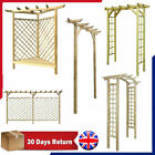 Garden Rose Arch Pergola Archway Flowers Climbing Plants Trellis Wooden