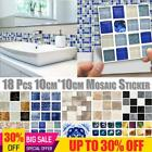 Kitchen Tile Stickers Bathroom Mosaic Sticker Selfadhesive Waterproof Home Decor
