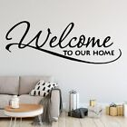 Cartoon Welcome Home Decor Wall Stickers Decoration Waterproof Wall Art Decal