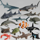 Ocean Sealife Animals Whale Turtle Shark Model Kids Educational Gift Toy izPHFH2