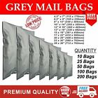 STRONG GREY SELF SEAL POLY POSTAL POSTAGE MAILING BAGS CHEAPEST ON EBAY