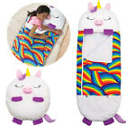 "Happy Nappers  Play Pillow  Sleep Sack Surprise 54"" Tall x 20"" Wide Ages 2-8"